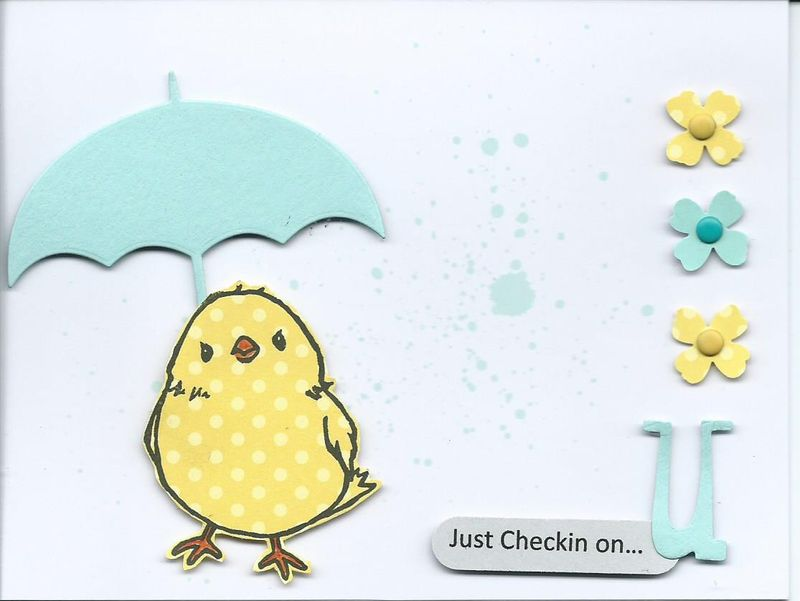 Chickin on u